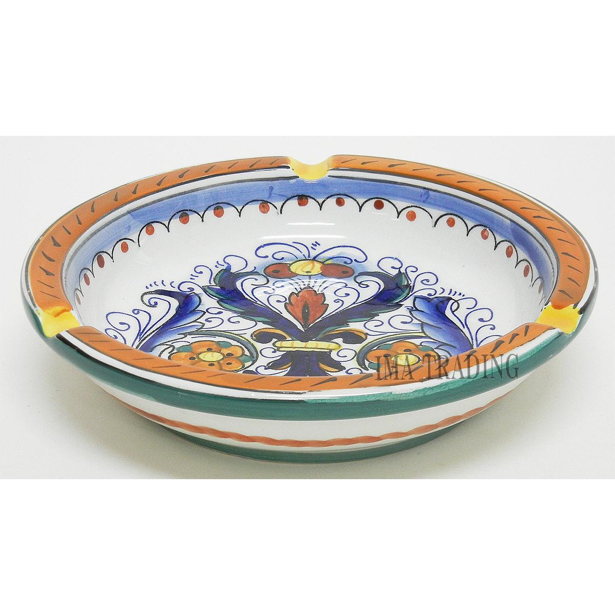 イタリア製 灰皿【N2-210RD】