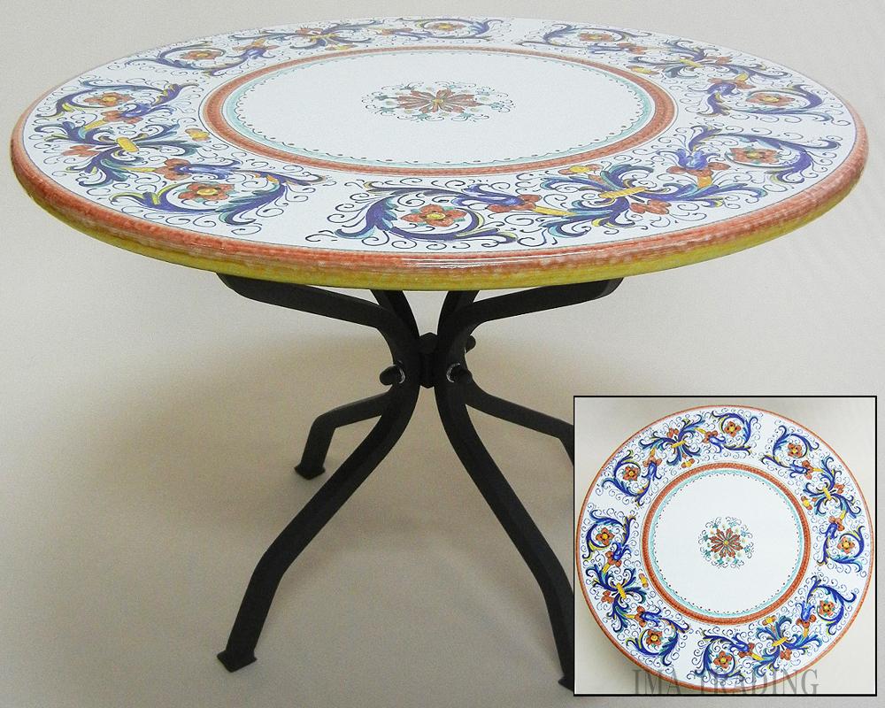 イタリア製 テーブル【N2-24CRIC】