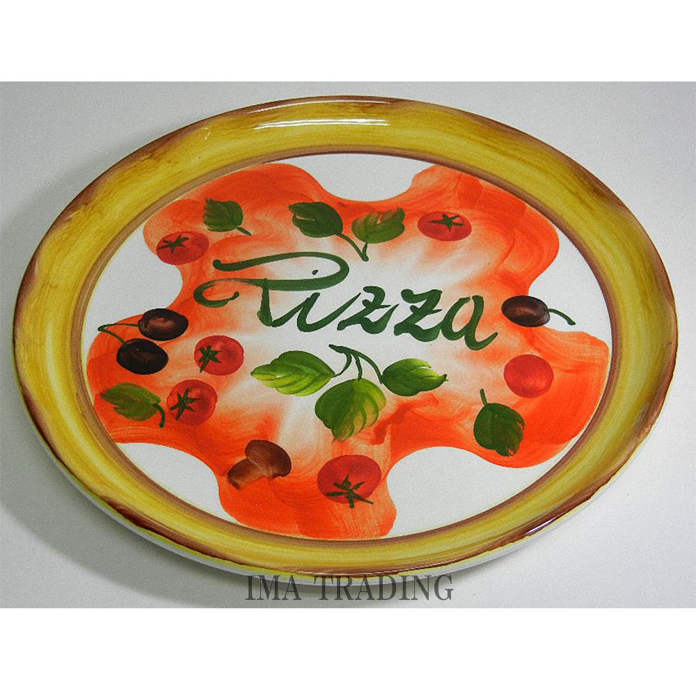 イタリア製 ピザプレート【P2-147026】