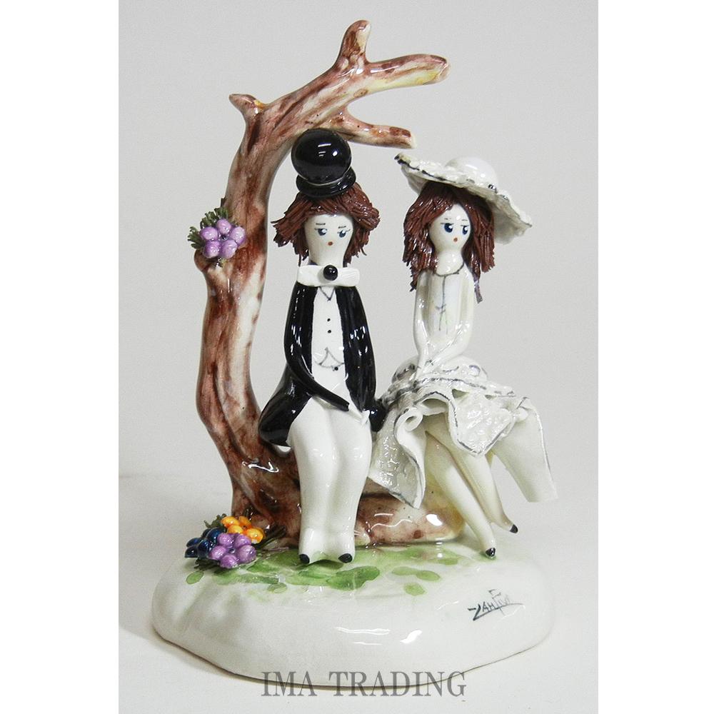 イタリア製 陶器人形【95-70030】
