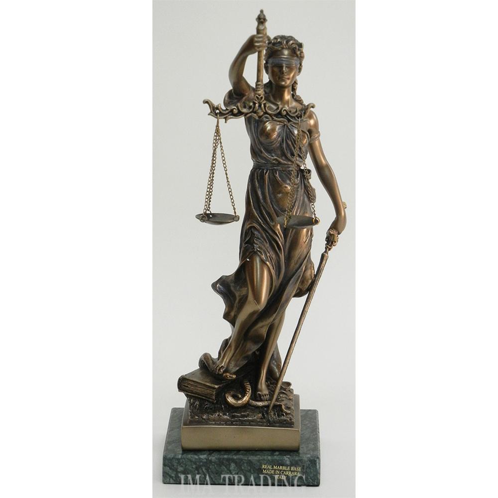 イタリア製 正義の女神【K2-71832M】