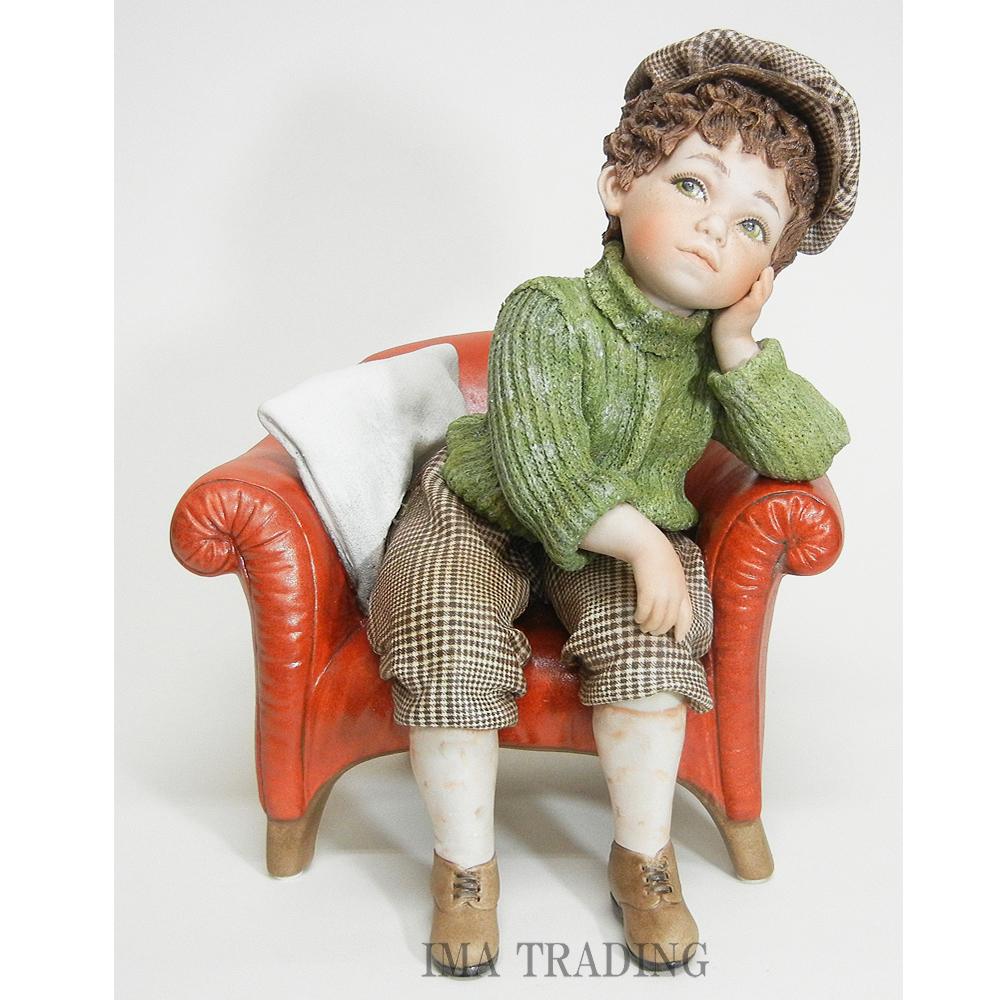 イタリア製 陶器人形【P1-FRAN-W】