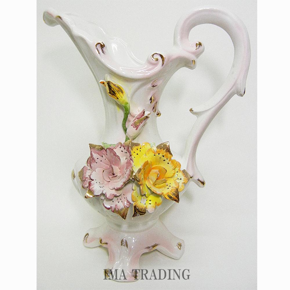 イタリア製 花瓶【N9-6013V】