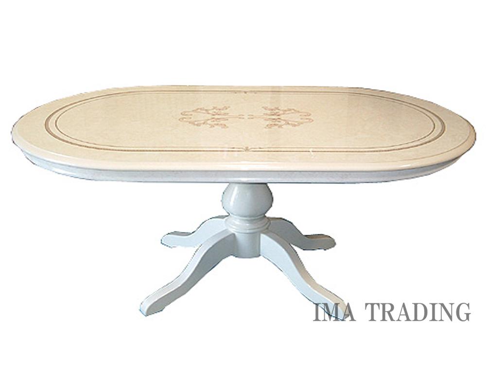 イタリア製 ダイニングテーブル【B3-7014】