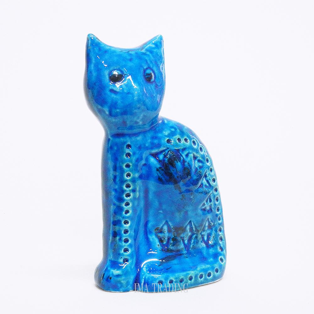 イタリア製 動物置物(ネコ)【G9-F119】