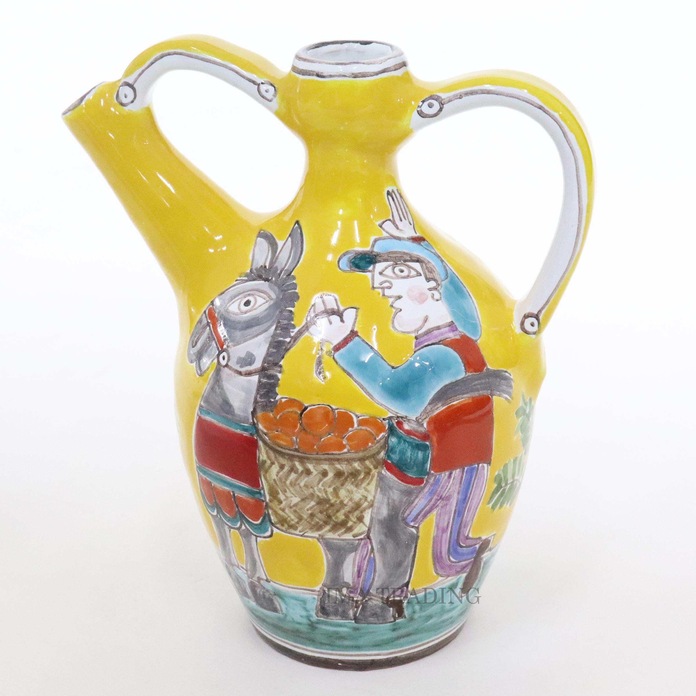 イタリア製 花瓶【M5-79DS】