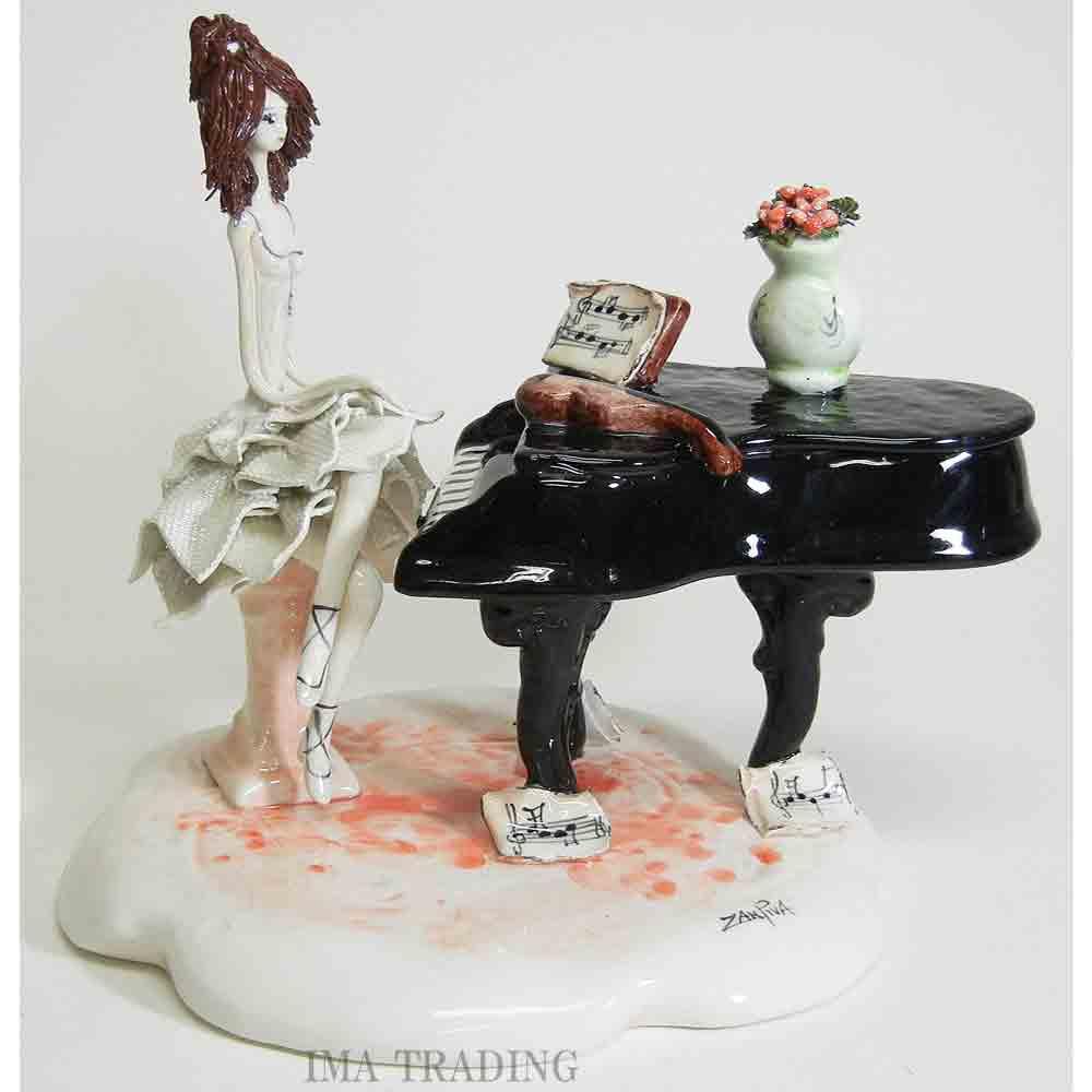 イタリア製 陶器人形【95-50109】