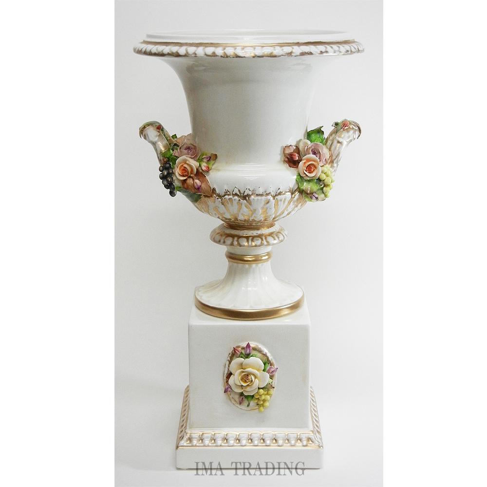 イタリア製 花瓶【C6-1934】