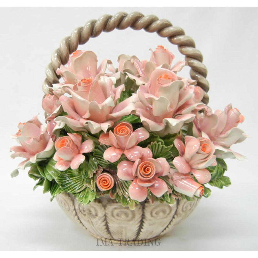 イタリア製 陶花【J4-A169TP】
