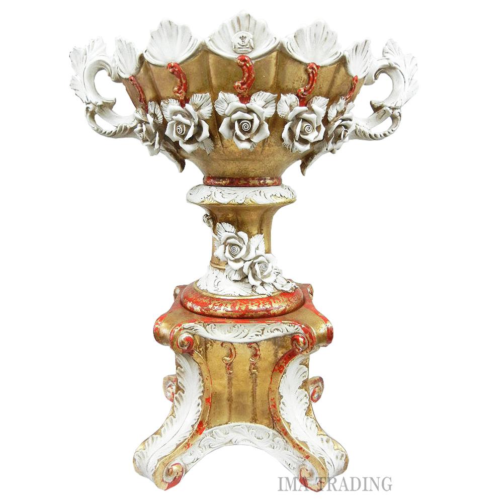 イタリア製 花瓶【J8-K64FO】
