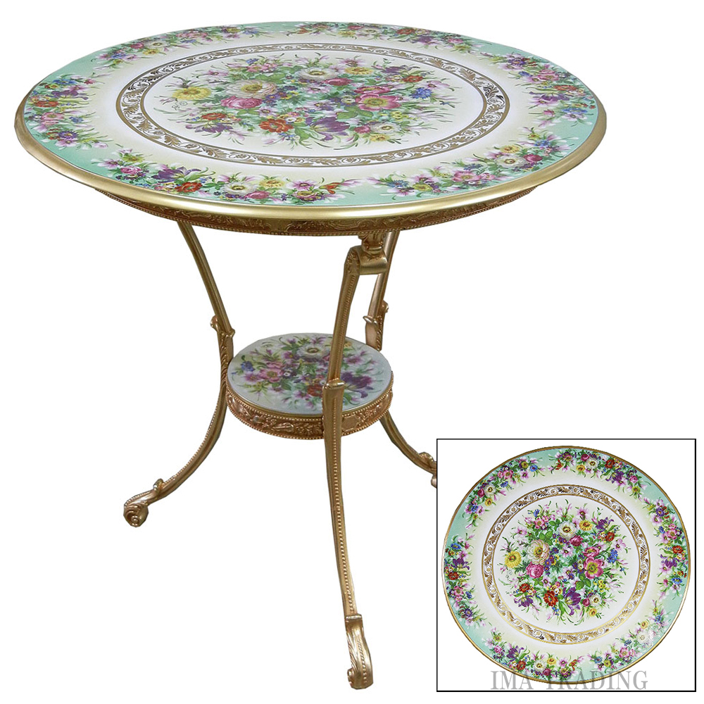 イタリア製 テーブル【L5-735】