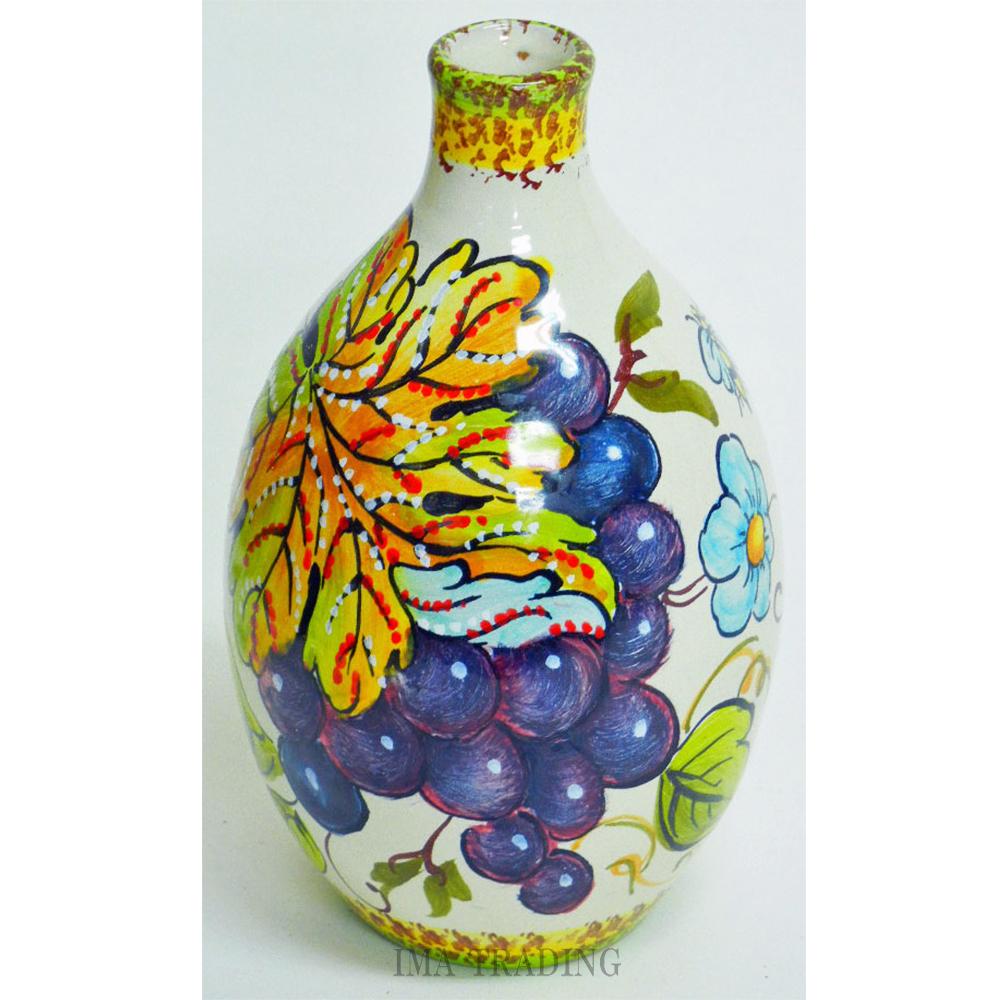イタリア製 花瓶【N5-BT18GR】