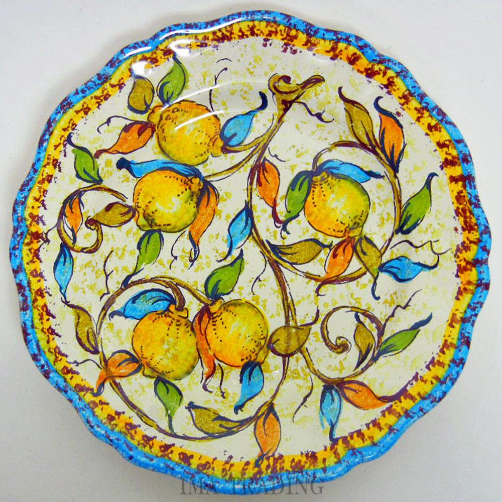イタリア製 絵皿【N5-PT25LS】