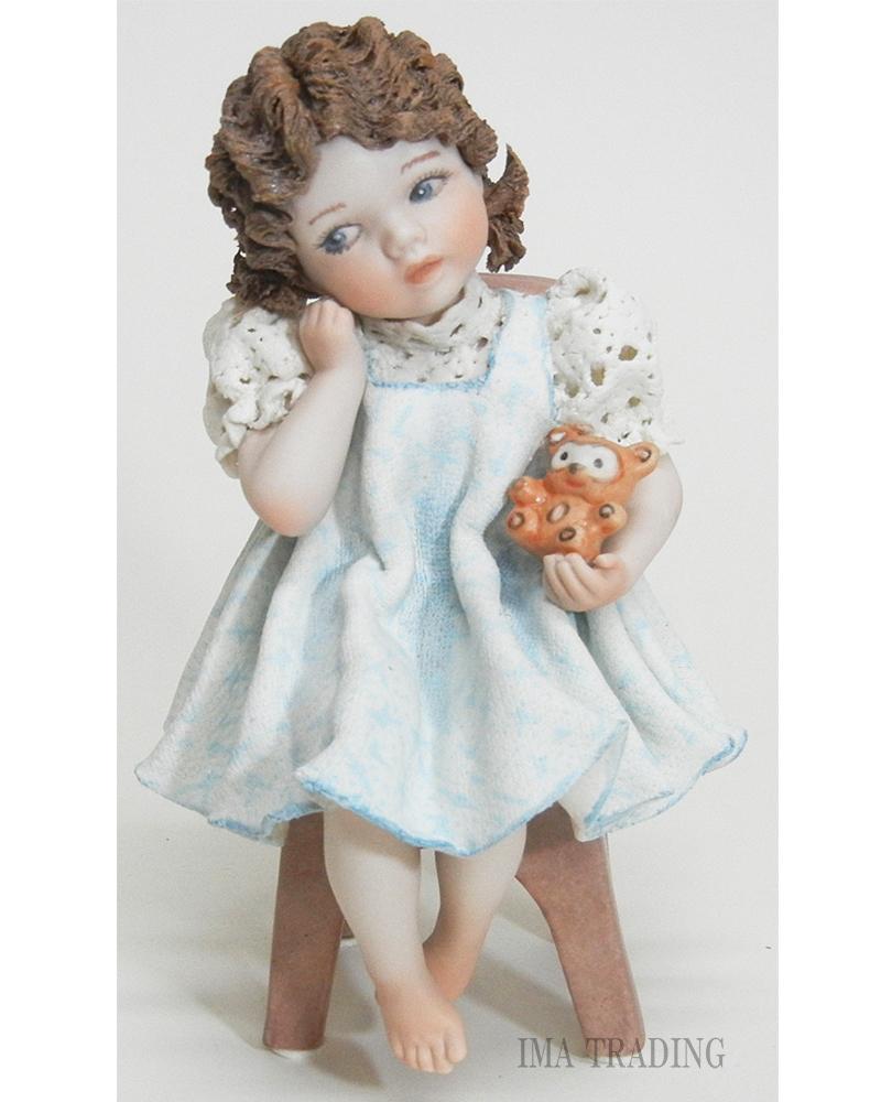 イタリア製 陶器人形【P1-NICOLE】