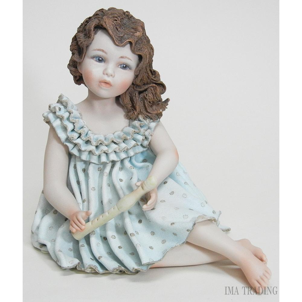 イタリア製 陶器人形【P1-PAMINA】