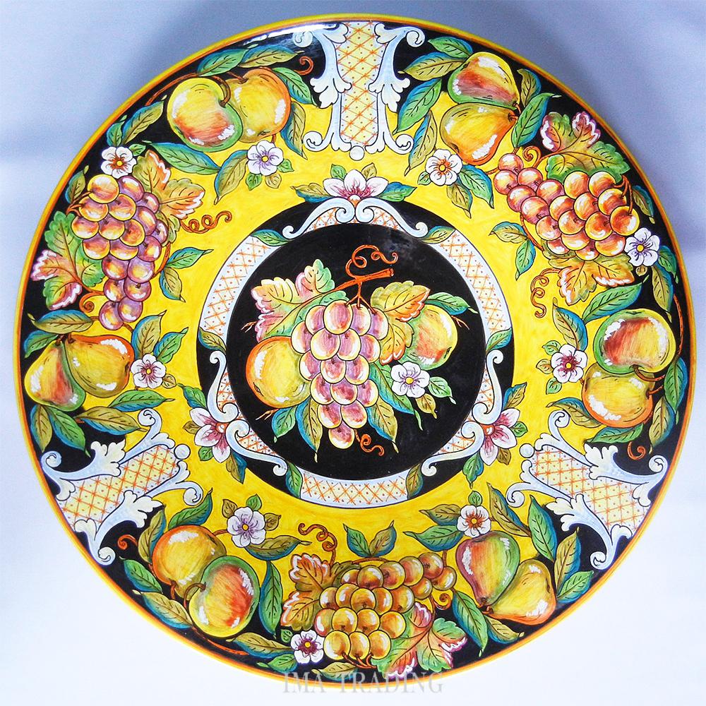 イタリア製 絵皿【M8-739B50】