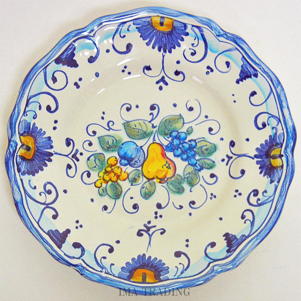 イタリア製 絵皿【N5-PT15FP】