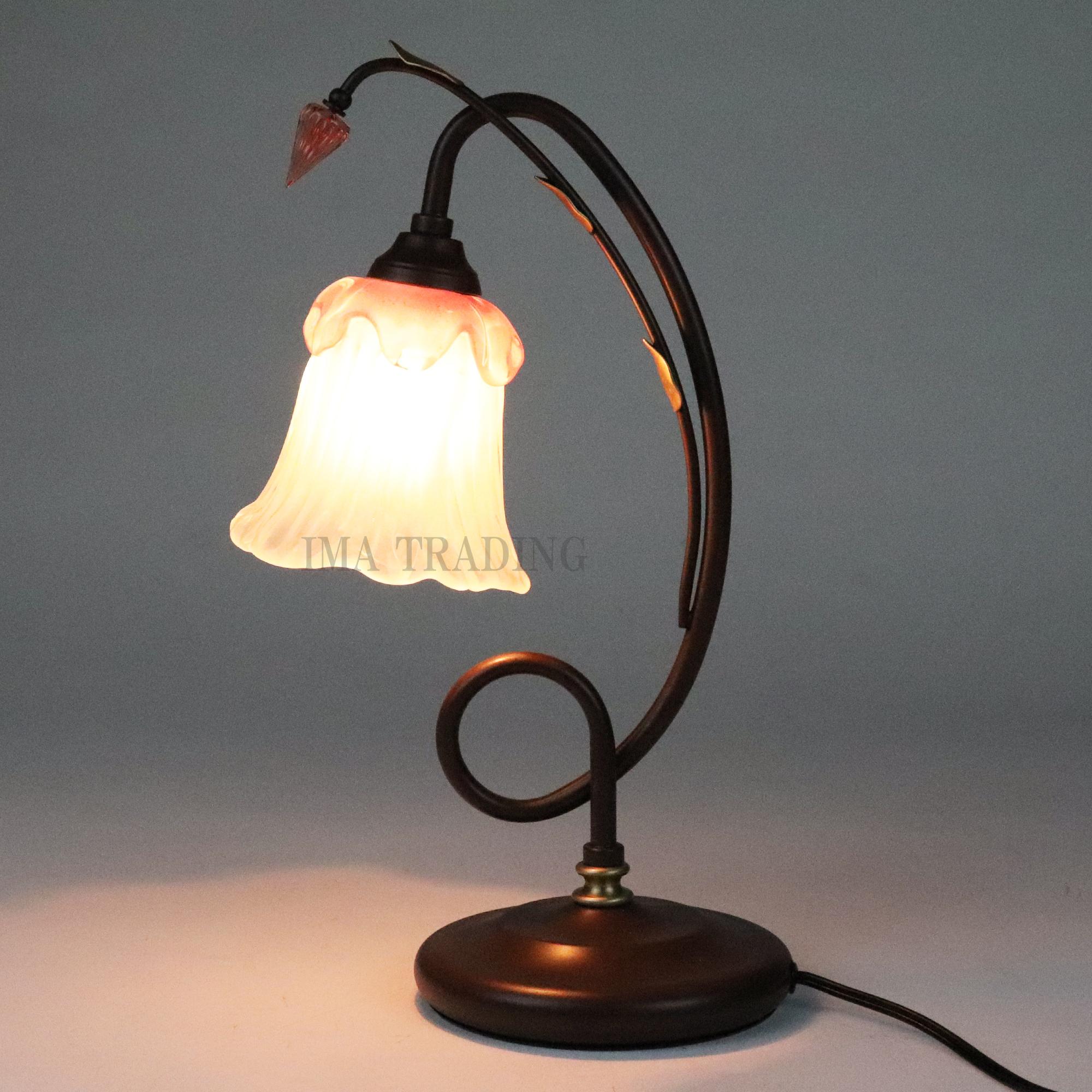イタリア製 卓上ランプ【66-9801P】